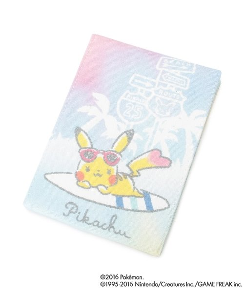Photo1: POKEMON LOVE IT'S DEMO Folding stand Hand mirror Pikachu (1)