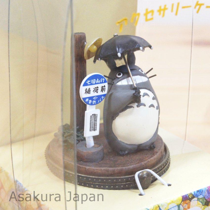 My Neighbor Totoro Accessory case Figure Rainy day ...