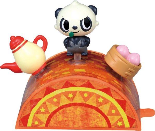 Photo1: Pokemon 2014 Takara Tomy Pita-Poke XY Pancham S Mini figure PitaPoke (1)