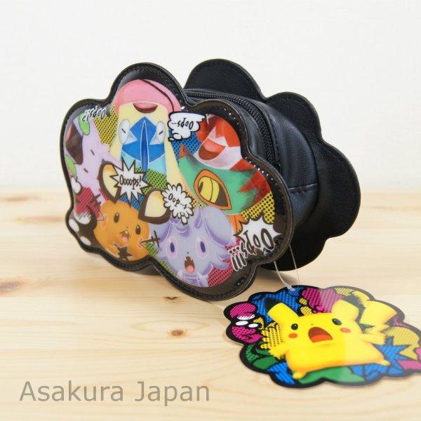 "Photo1: Pokemon Center 2014 ""Pikachu Oops!"" Pen Pouch Case Goomy Espurr Greninja (1)"
