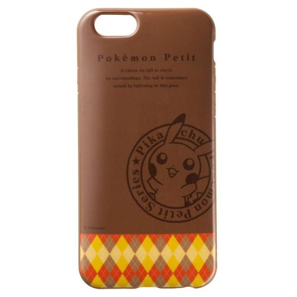 Photo1: Pokemon Center 2014 iPhone 6 Soft Case Pokemon Petit Pikachu Jacket Cover (1)