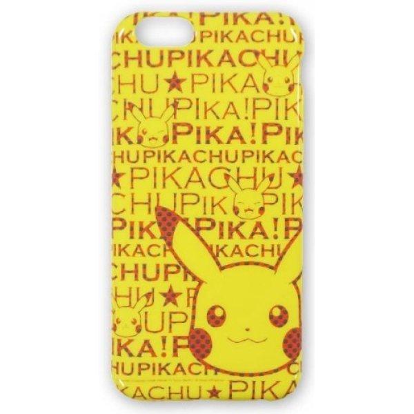 Photo1: Pokemon 2014 iPhone 6 Soft Case Pikachu logo PIKA! Jacket Cover (1)