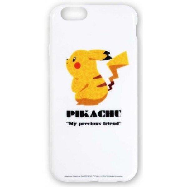 Photo1: Pokemon 2014 iPhone 6 Soft Case Pikachu White Jacket Cover (1)