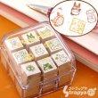 Photo1: Studio Ghibli My Neighbor Totoro mini rubber Stamp set (1)
