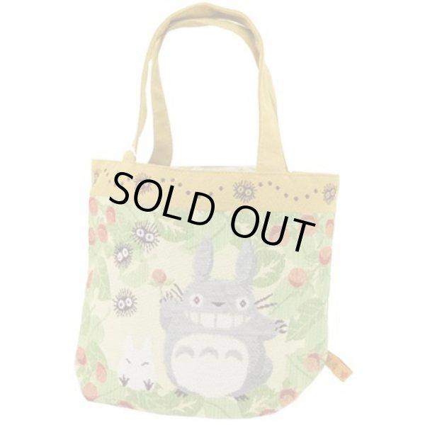 Photo1: Studio Ghibli My Neighbor Totoro Tapestry Tote bag (1)