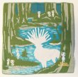Photo1: Studio Ghibli Princess Mononoke gauze handkerchief Kodama Forest Spirit (1)