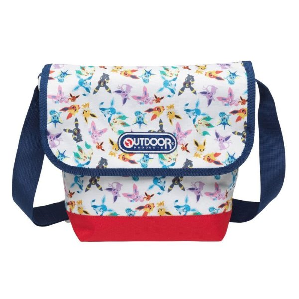 Photo1: Pokemon Center 2015 pokomon time Eevee COLLECTION x OUTDOOR Shoulder bag (1)