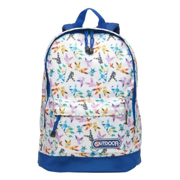 Photo1: Pokemon Center 2015 pokomon time Eevee COLLECTION x OUTDOOR Backpack Bag Daypack (1)