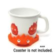 Photo5: Studio Ghibli Howl's Moving Castle Calcifer Enamel Mug (5)