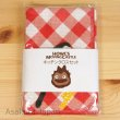 Photo2: Studio Ghibli Howl's Moving Calcifer Kitchen Cross Towels Two 2pc (2)