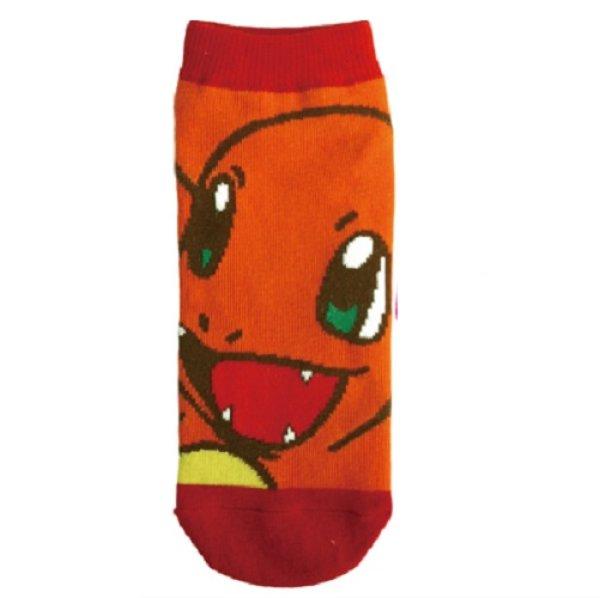 Photo1: Pokemon Socks for Women Charmander 22 - 24 cm 1Pair (1)