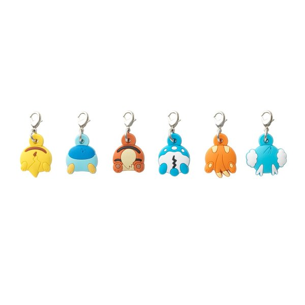 Photo1: Pokemon Center 2015 Hip Pop Parade Rubber Charm Set (1)