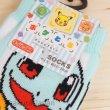 Photo3: Pokemon Socks for Women PokeToru Squirtle Charmander Bulbasaur 22 - 24 cm 1Pair (3)