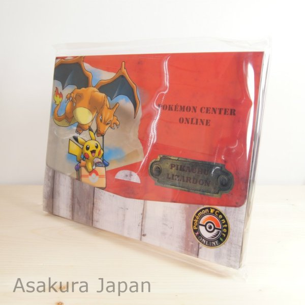 Photo1: Pokemon Center Online 2016 Campaign A4 Size Document Case Red Pikachu Charizard (1)