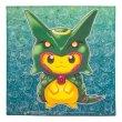 Photo1: Pokemon Center Sky Tree Town 2016 Poncho Pikachu Series Rayquaza Handkerchief (1)