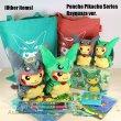 Photo3: Pokemon Center Sky Tree Town 2016 Poncho Pikachu Series Rayquaza Handkerchief (3)