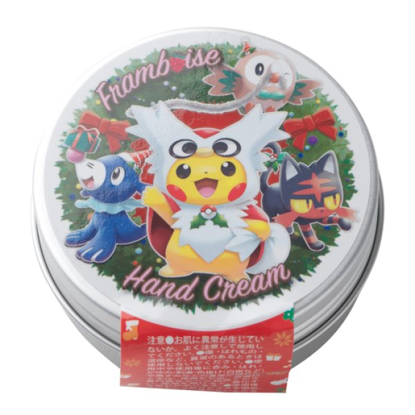 Photo1: Pokemon Center CHRISTMAS 2016 PM Hand cream 50g Delibird Poncho Pikachu (1)
