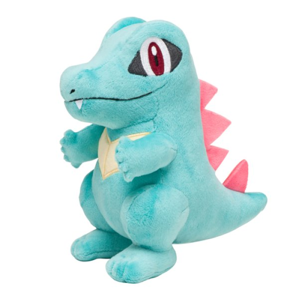 Photo1: Pokemon Center 2016 Totodile Plush Toy (1)