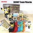 Photo2: Pokemon Center 2016 SECRET TEAMS Short Socks for Women 23 - 25cm 1 Pair Rocket Pikachu (2)