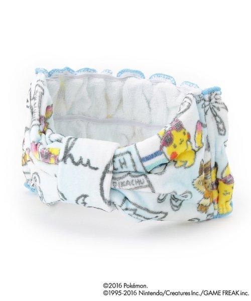 Photo1: POKEMON LOVE IT'S DEMO Hair turban Towel Hair bands Pikachu Eevee (1)