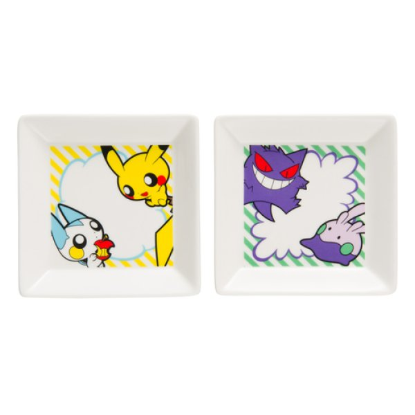 Photo1: Pokemon Center 2017 POKEMON POP Small Plate Set of 2 (1)
