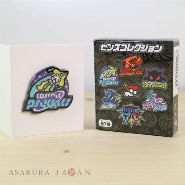 Photo1: Pokemon Center 2017 POKEMON GRAPHIX PTBL Pins Collection Jirachi Pin Badge (1)