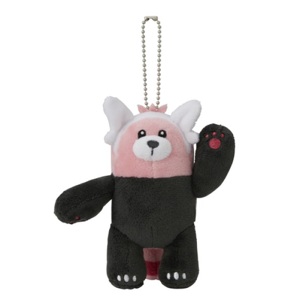 Photo1: Pokemon Center 2017 Plush Mascot Key Chain Bewear (1)