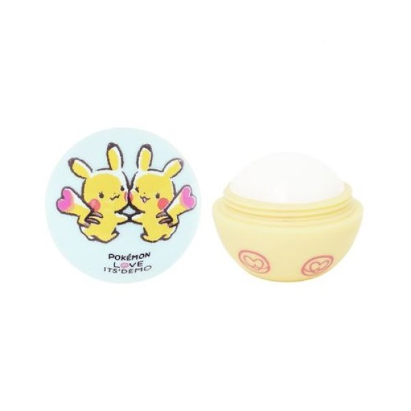 Photo1: POKEMON LOVE ITS' DEMO Lip cream #1 Pikachu No fragrance (1)