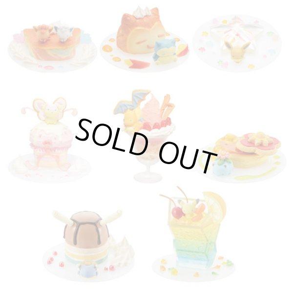 Photo1: Pokemon Center 2017 Mini Figure Collection Dessert Plate 8 pcs Complete set (1)