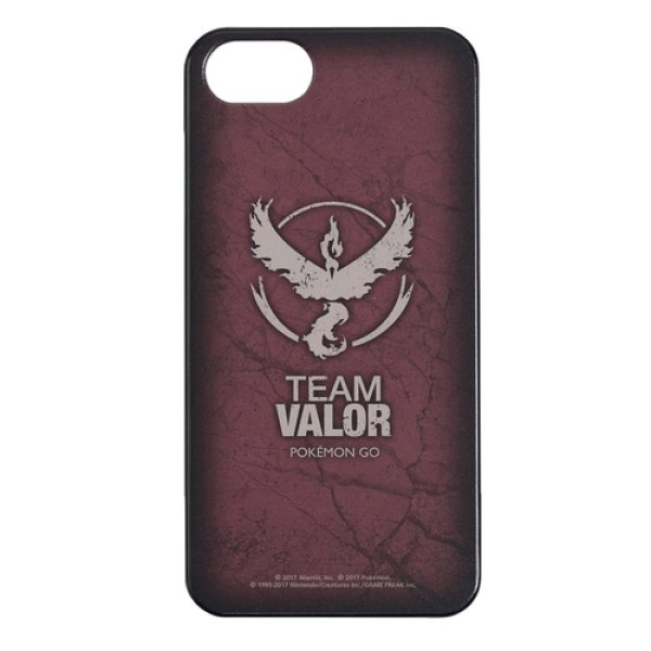 Photo1: Pokemon Center 2017 Pokemon GO Official iPhone 8/7/6s/6 Hard Case TEAM VALOR Moltres (1)