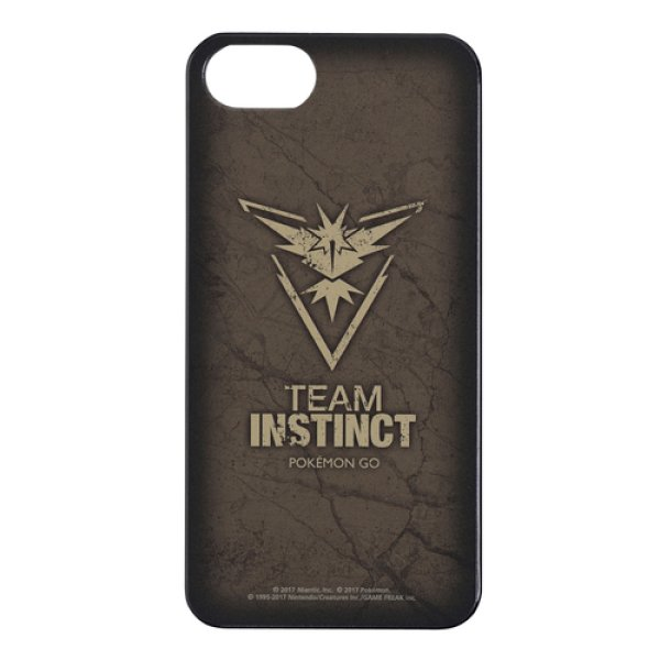 Photo1: Pokemon Center 2017 Pokemon GO Official iPhone 7 Hard Case TEAM INSTINCT Zapdos (1)