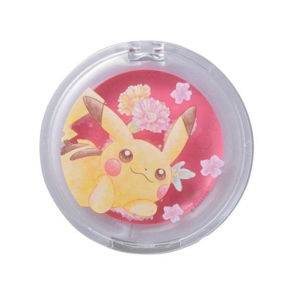 Photo1: Pokemon Center 2017 Watercolor style Blush & Lip Balm Pikachu Flower (1)