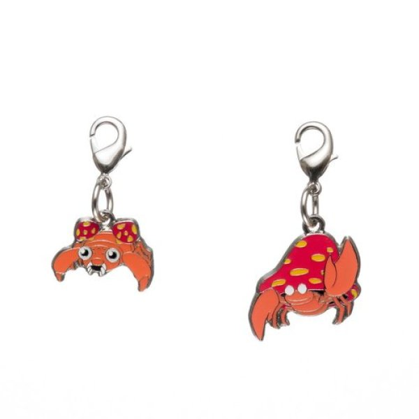 Photo1: Pokemon Center 2018 #My151 Metal Charm # 046 047 Paras Parasect (1)