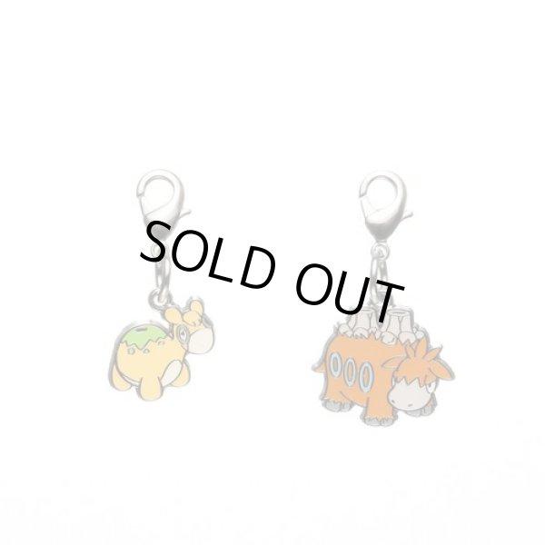 Photo1: Pokemon Center 2012 Metal Charm # 322 323 Numel Camerupt (1)
