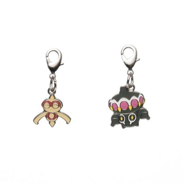 Photo1: Pokemon Center 2012 Metal Charm # 343 344 Baltoy Claydol (1)