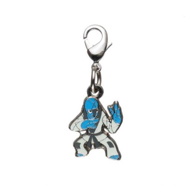 Photo1: Pokemon Center 2012 Metal Charm # 539 Sawk (1)