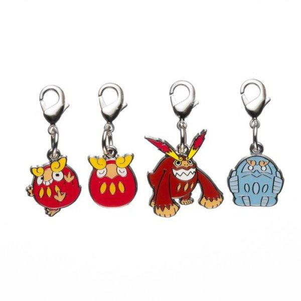 Photo1: Pokemon Center 2012 Metal Charm # 554 555 Darumaka Darmanitan (1)