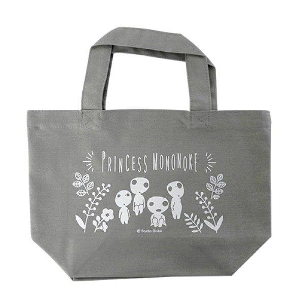 Photo1: Studio Ghibli Princess Mononoke Kodama mini Tote bag (1)