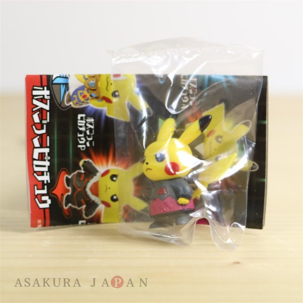 Photo1: Pokemon Center 2018 Rainbow Rocket Figure Collection Team Magma Maxie Pikachu (1)