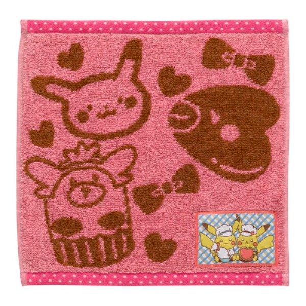 Photo1: Pokemon Center 2018 Pikachu's Sweet Treats Hand towel (1)