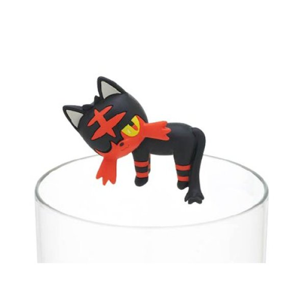 Photo1: Pokemon Center 2018 Gacha PUTITTO Pokemon Collection vol.3 Litten mini Figure (1)