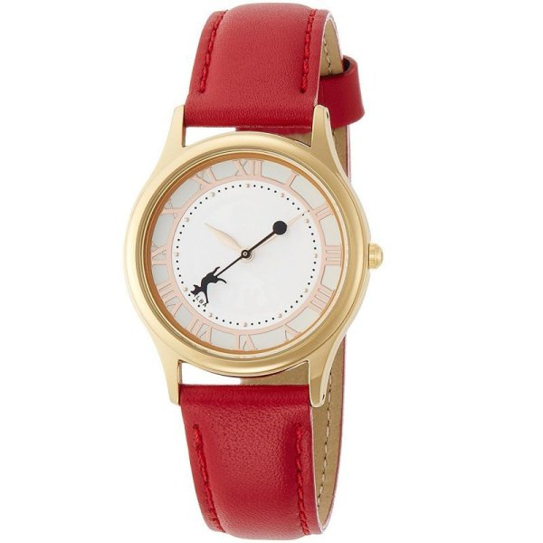 Photo1: Studio Ghibli Ladies Wristwatch ALBA ACCK408 Kiki's Delivery Service (1)