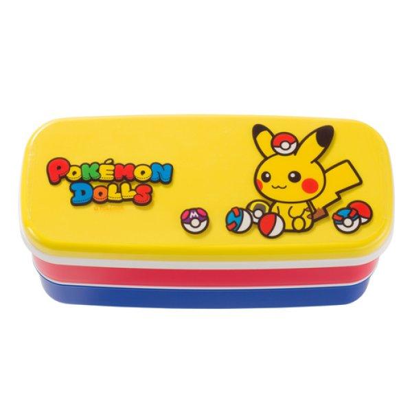 Photo1: Pokemon Center 2018 POKEMON DOLLS Two-stage Lunch Box Bento (1)