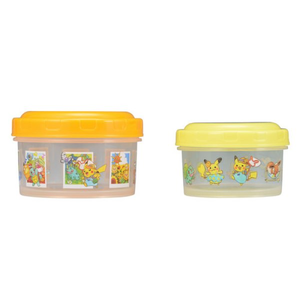 Photo1: Pokemon Center 2018 Pokemon Summer Life Sealed Container 2 pieces (1)