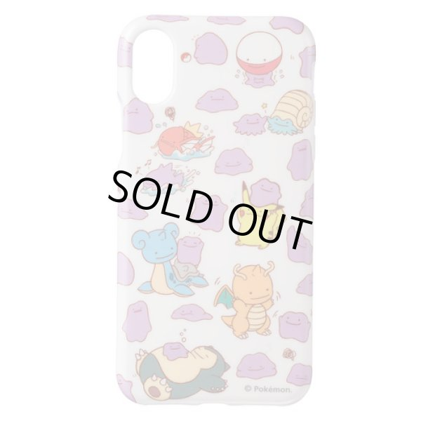Photo1: Pokemon Center 2018 Transform Ditto Soft jacket for iPhone X case (1)