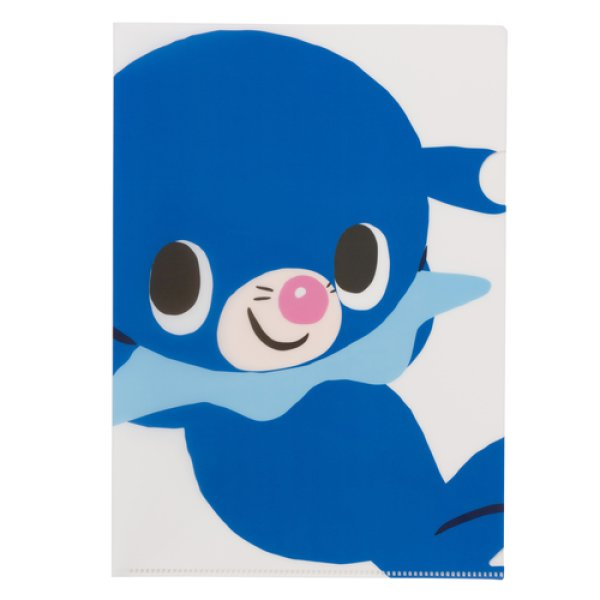 Photo1: Pokemon Center 2018 pokemon time A4 Size Clear File Folder Popplio (1)