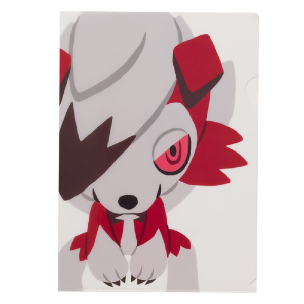Photo1: Pokemon Center 2018 pokemon time A4 Size Clear File Folder Lycanroc (1)
