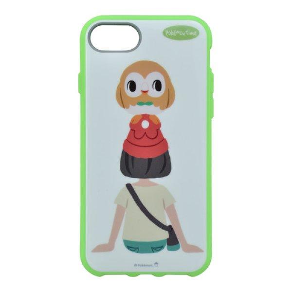 Photo1: Pokemon Center 2018 pokemon time jacket for iPhone 8/7/6s/6 case Selene Rowlet (1)