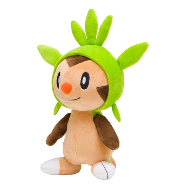 Photo1: Pokemon Center 2018 Chespin Plush Toy (1)
