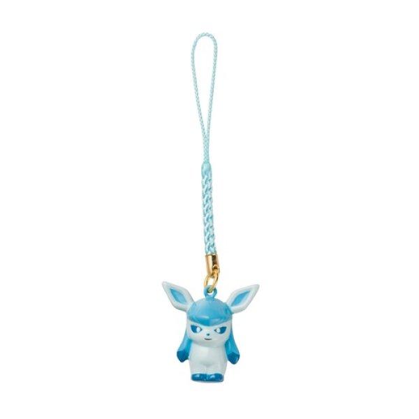 Photo1: Pokemon Center 2018 Bell Charm Strap Glaceon (1)